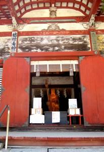 福禄寿神像(総社拝殿)