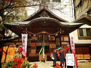 水天宮と金刀比羅宮(露天神社)