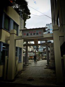 鳥居(露天神社)